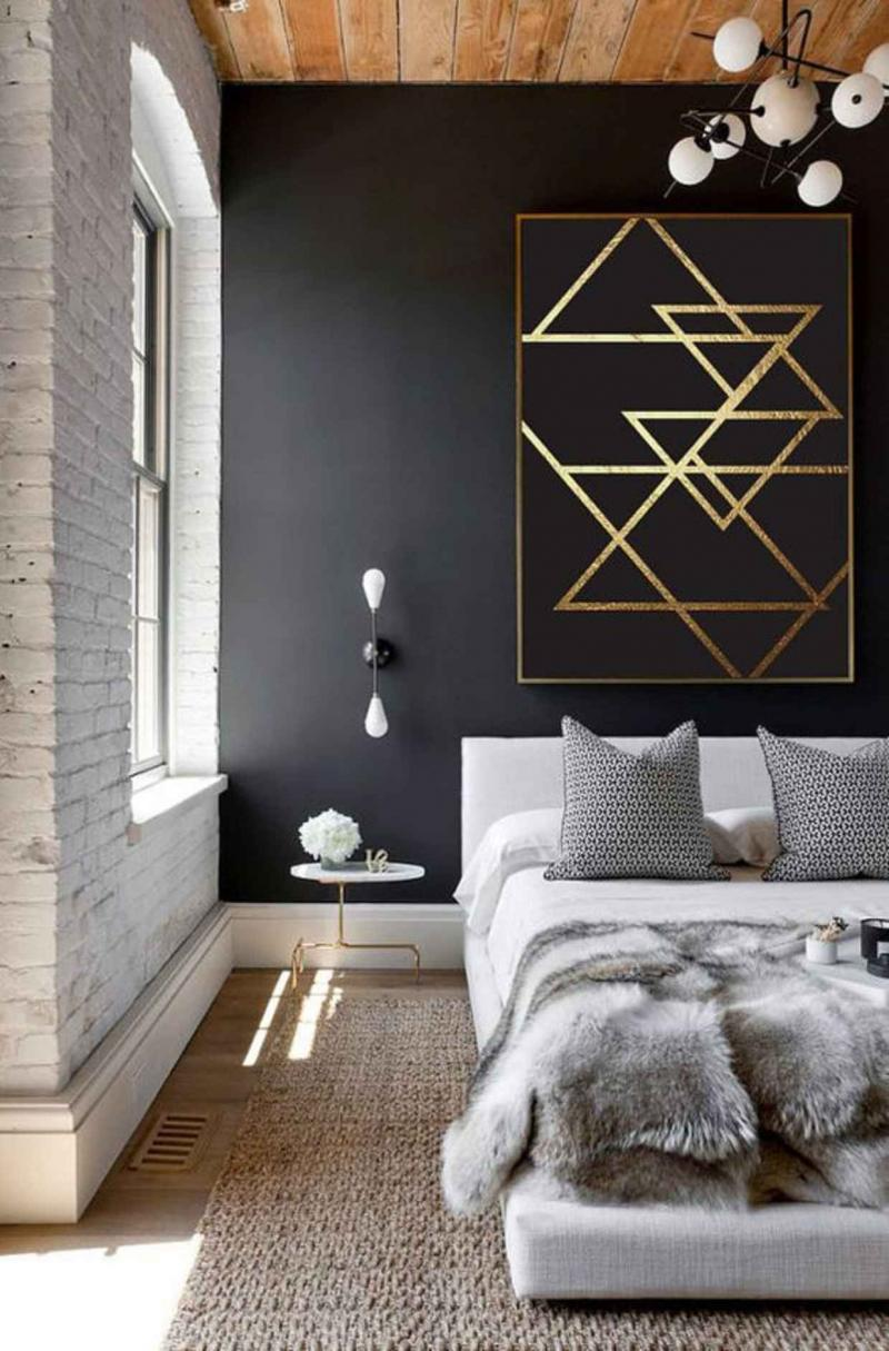 Аксессуары для спальни 2019 из латуни 1