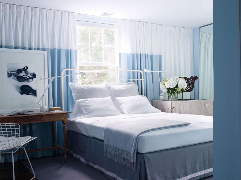 Аксессуары для спальни 2019 шторы в пол 1