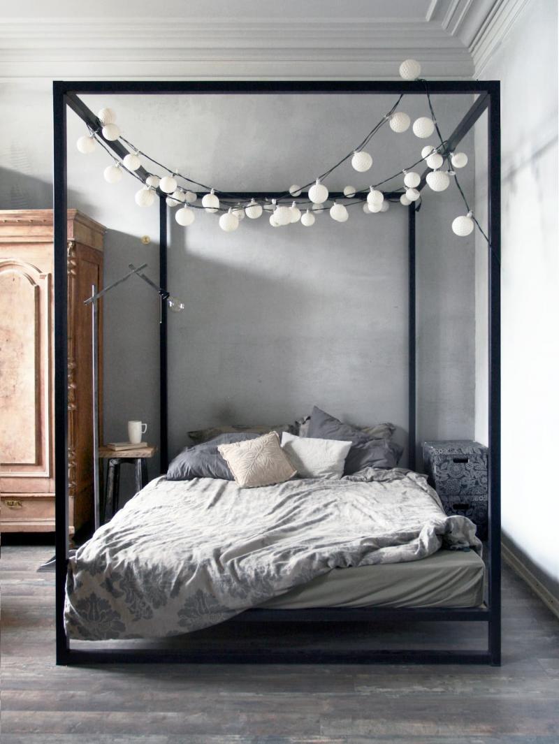 Балдахин для кровати в спальнях 2019 2