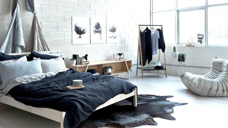 Стиль в интерьере спальни 2019 скандинавский 2