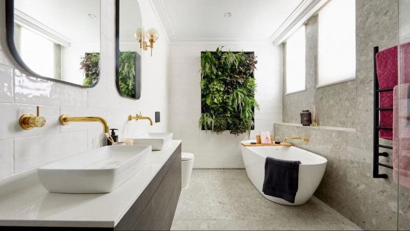 Аксессуары для ванной 2019 живые растения 2
