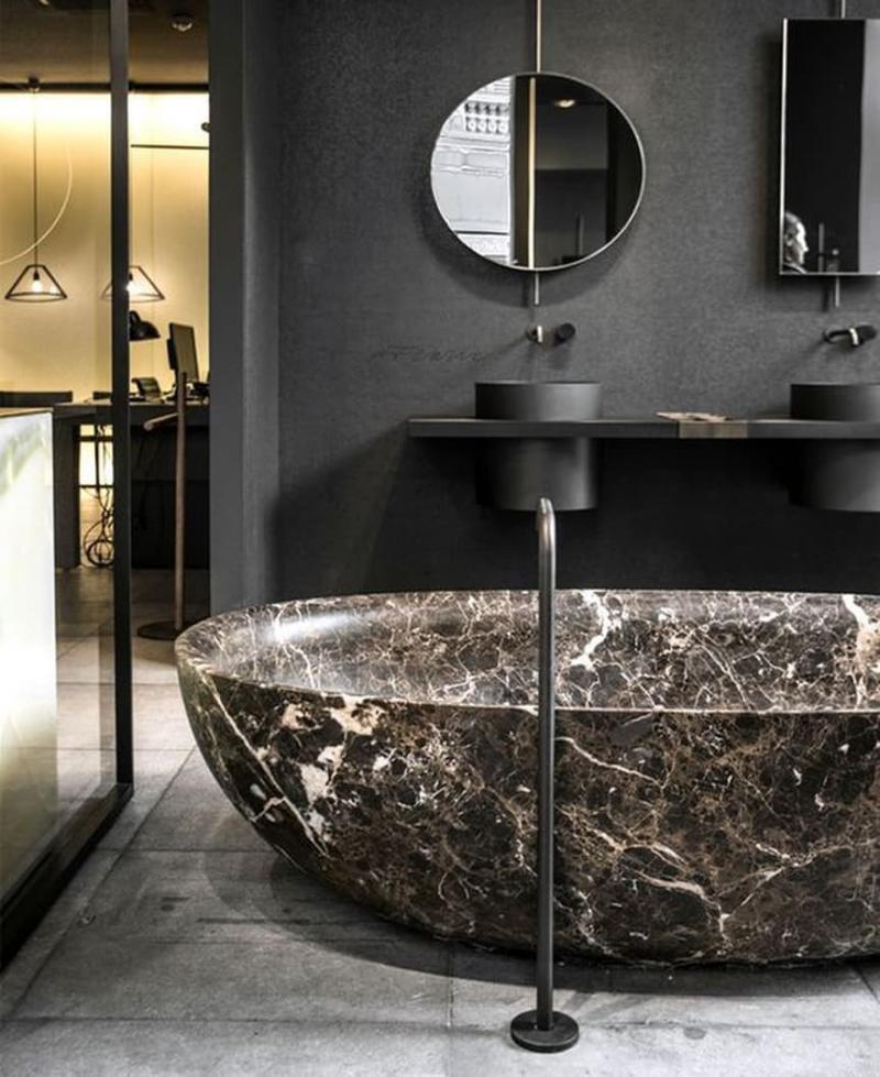Цвет для ванной 2019 черный 4
