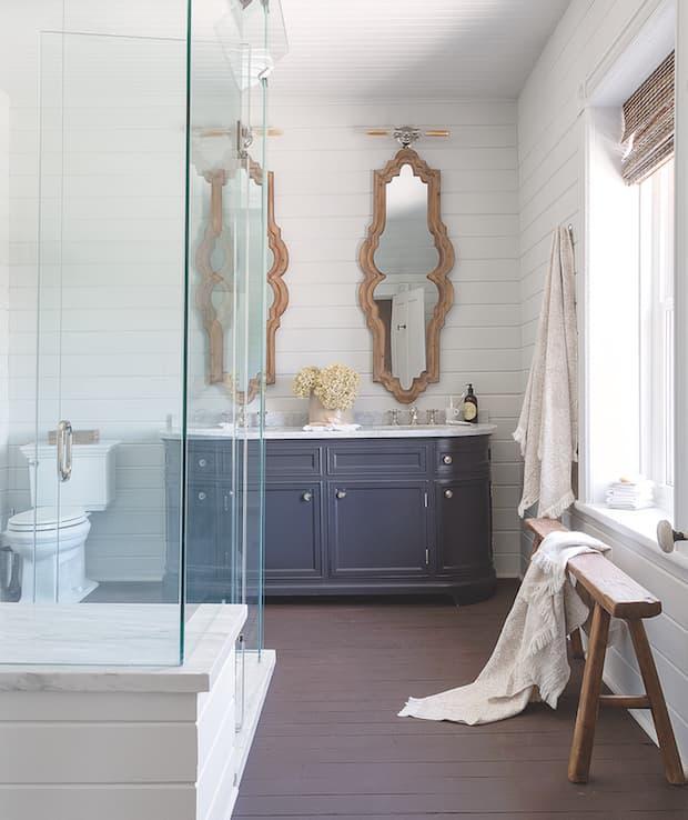 Мебель для ванной 2019 деревяные тумбы 2