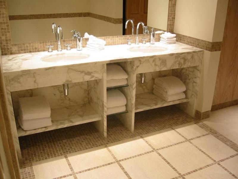Мебель для ванной 2019 кварцевые столешницы 1