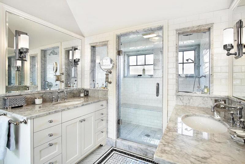 Мебель для ванной 2019 кварцевые столешницы 2