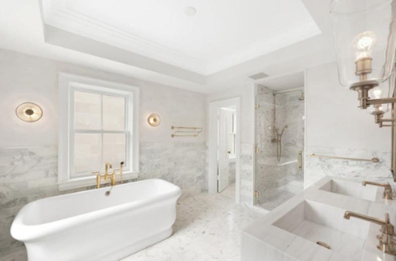 Стилистическое оформленние ванной 2019 арт-деко 1