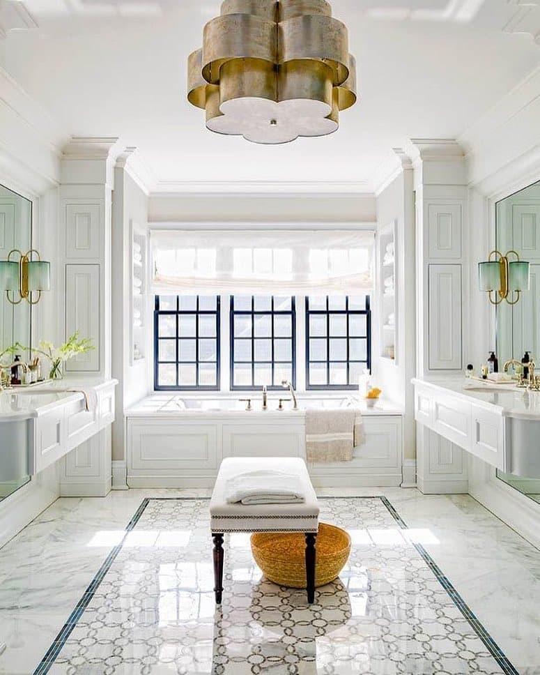 Стилистическое оформленние ванной 2019 арт-деко 2