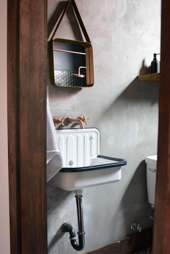 Стилистическое оформленние ванной 2019 лофт 2