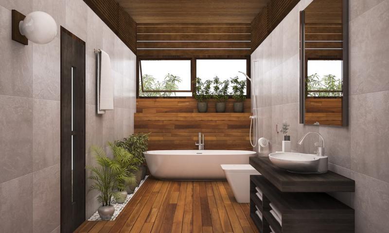 Стилистическое оформленние ванной 2019 спа 5