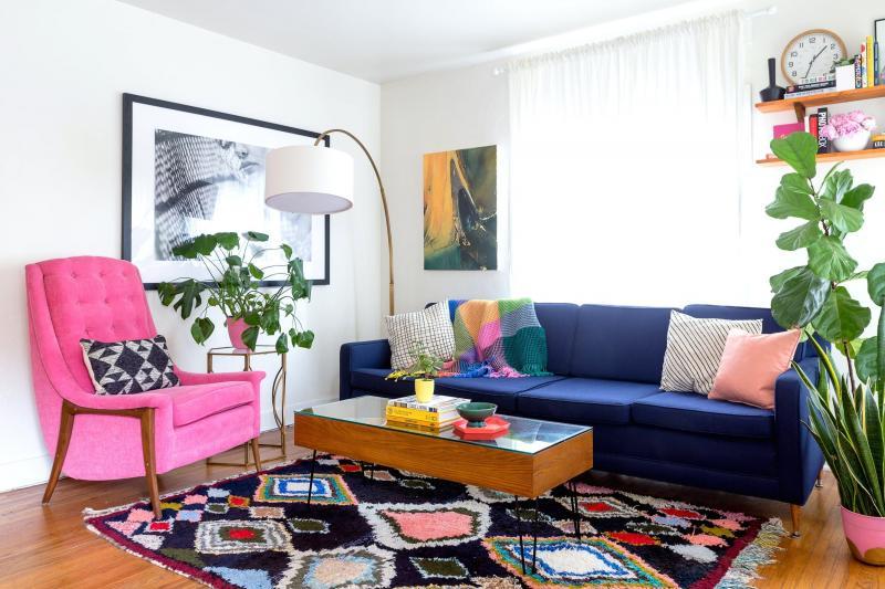 Цвет для оформления квартиры 2019 геометрический принт 2