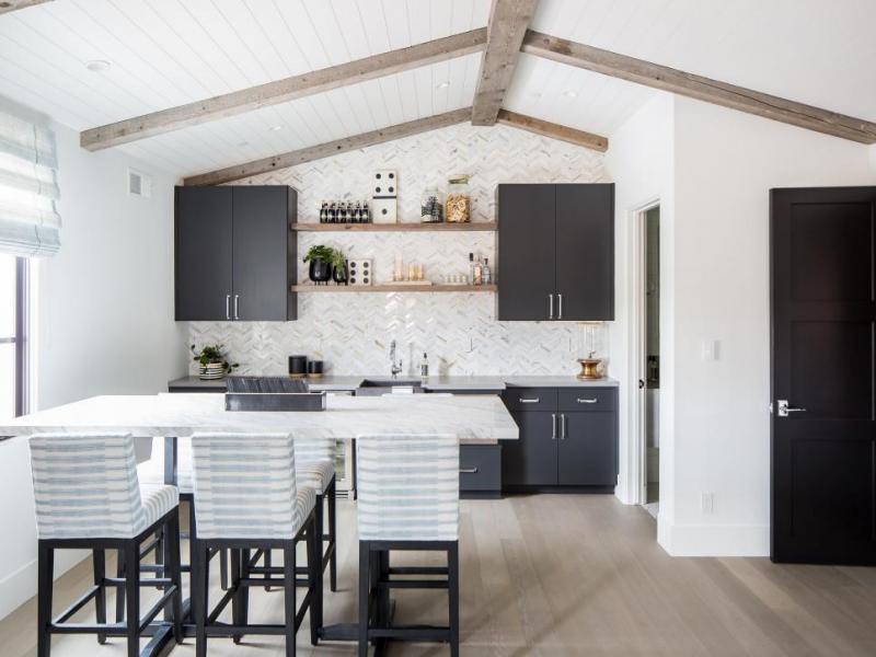 Интерьер квартиры 2019 кухня 3