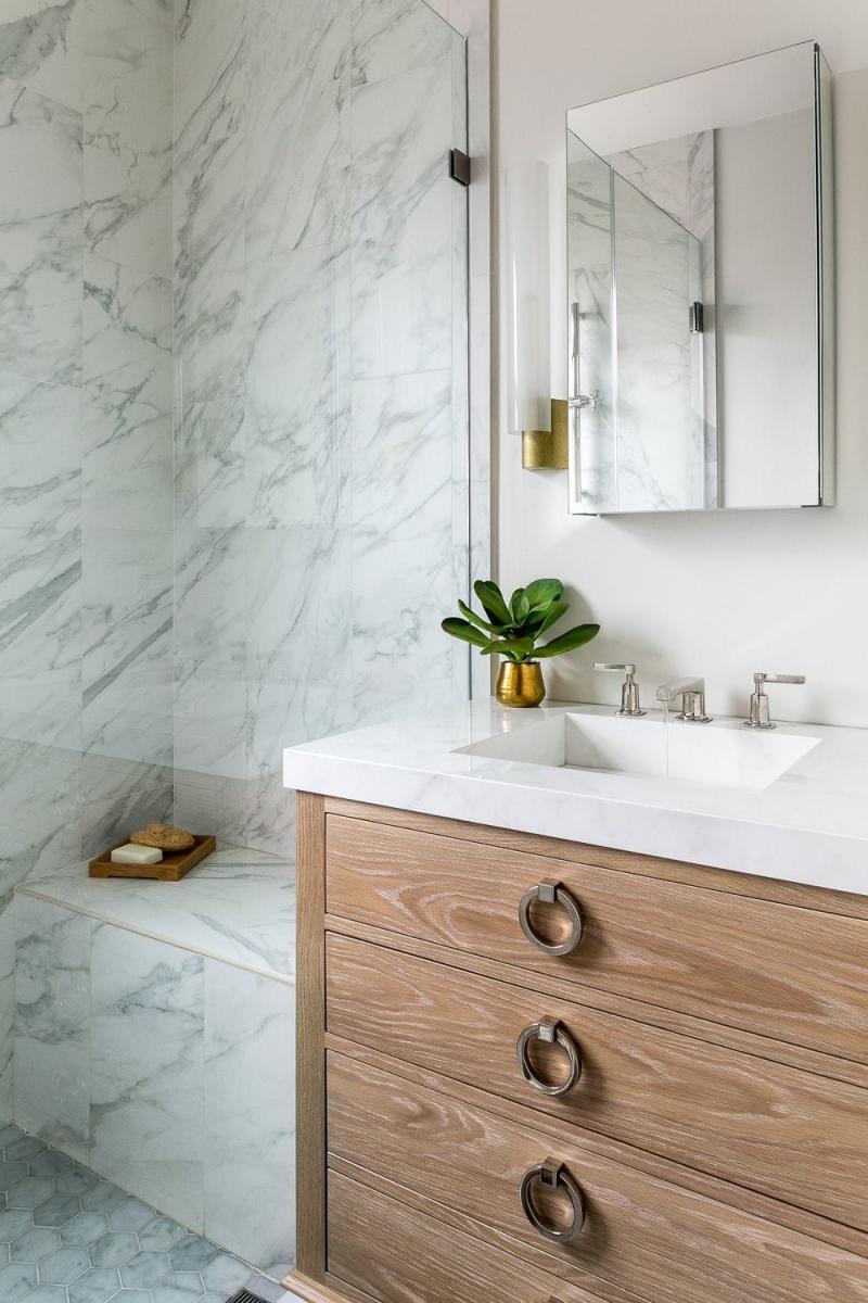 Интерьер квартиры 2019 ванная 5