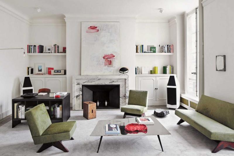 Мебель для квартиры 2019 бархатная обивка 3
