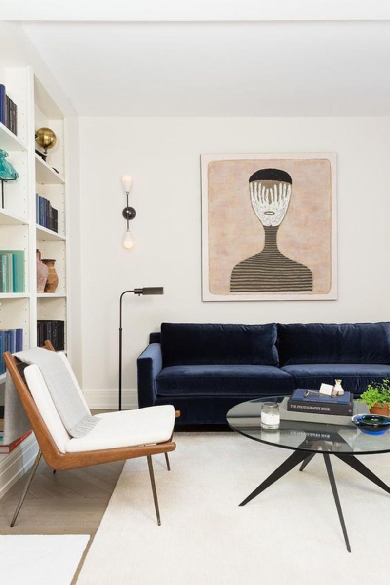 Мебель для квартиры 2019 бархатная обивка 4