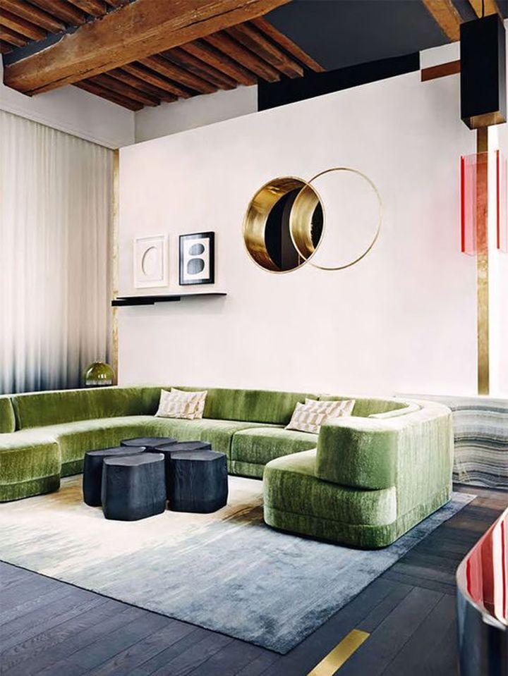 Мебель для квартиры 2019 изогнутая 2