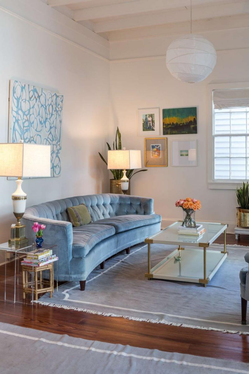 Мебель для квартиры 2019 изогнутая 4