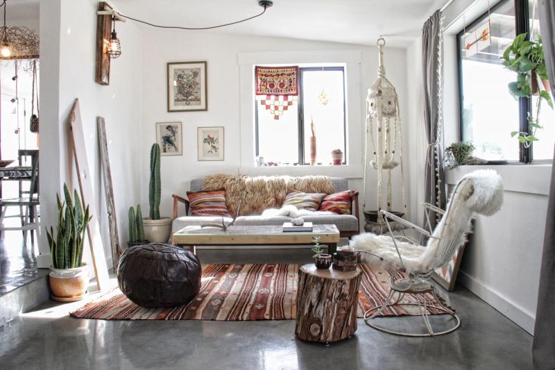 Стиль оформления квартиры 2019 бохо 3