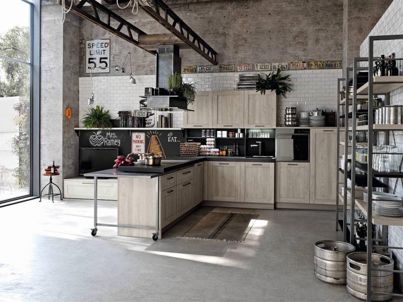 Аксессуары для кухни в стиле лофт 1