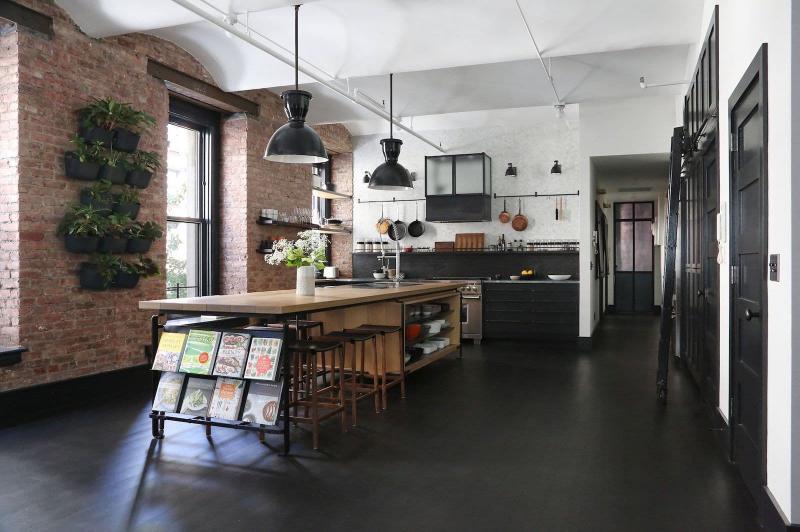Двери для кухни в стиле лофт 2