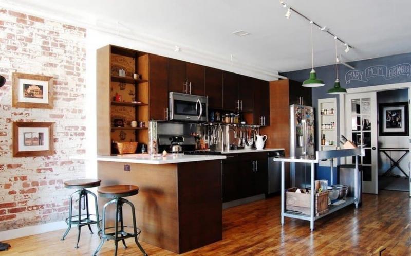 Двери для кухни в стиле лофт 3