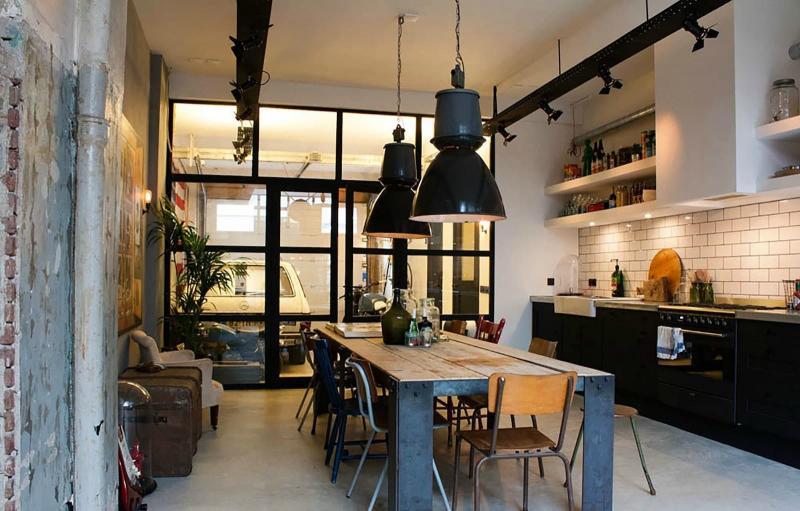 Двери для кухни в стиле лофт 5