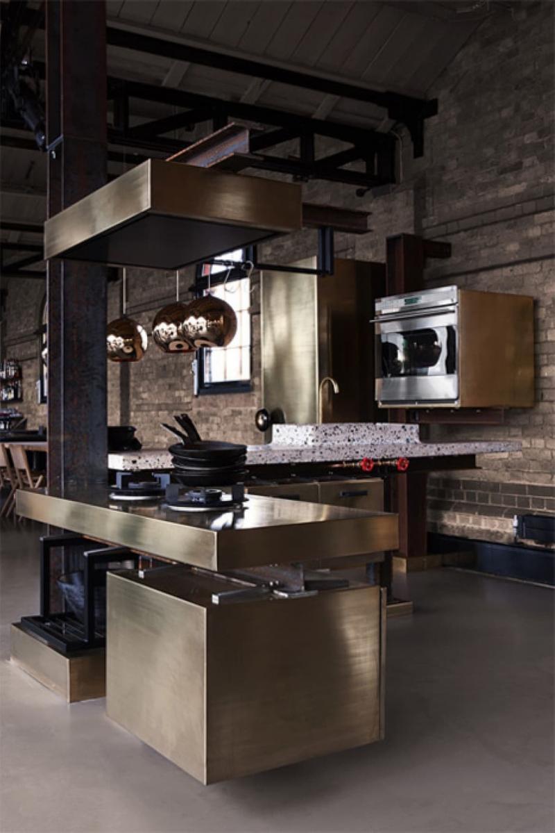 Кухонный гарнитур в стиле лофт 3