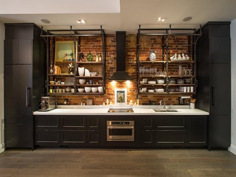 Кухонный гарнитур в стиле лофт 4