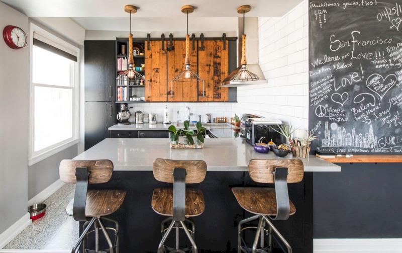 Кухонный гарнитур в стиле лофт 5