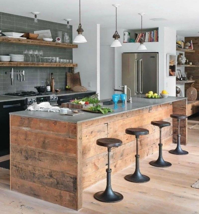 Стулья для кухни в стиле лофт 4