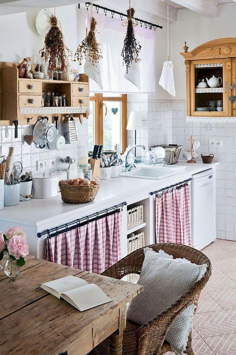 Крепление штор на кухне 2019 кольца 1