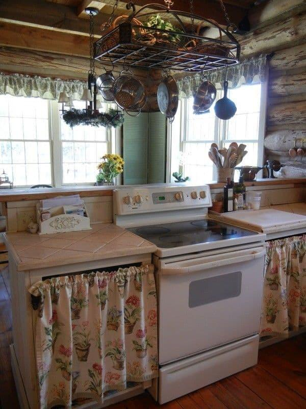 Крепление штор на кухне 2019 кулиска 3