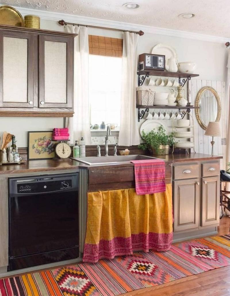 Материал для штор на кухню 2019 лен 3