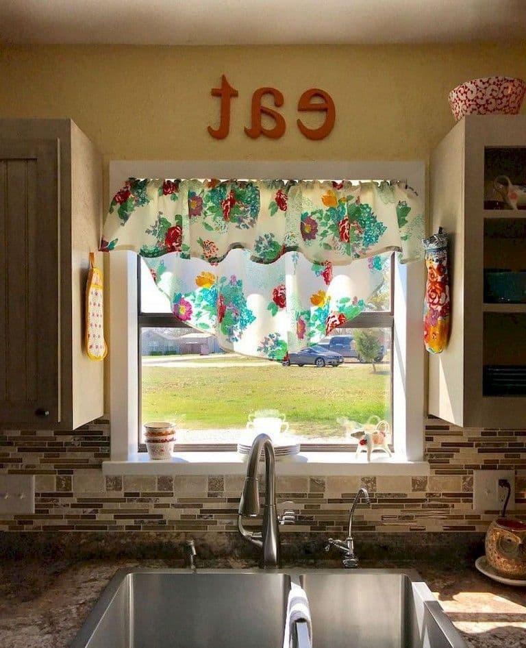 Модели штор для кухни 2019 бандо 2