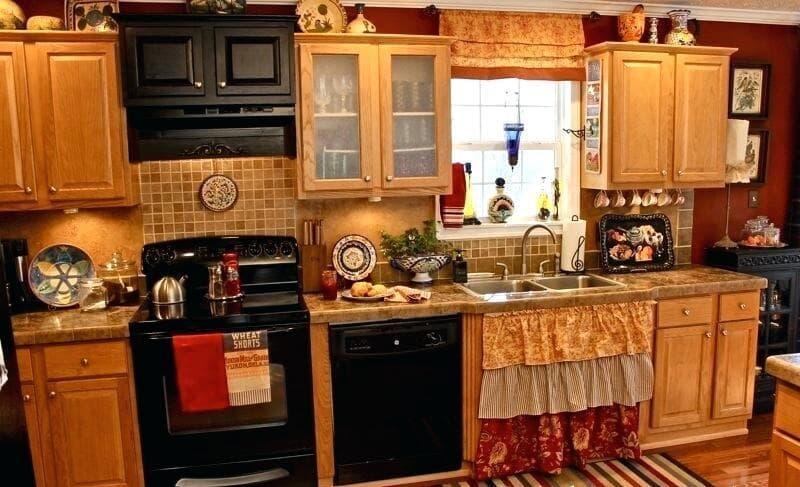 Модели штор для кухни 2019 многослойная драпировка 2