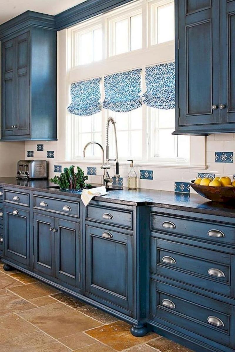 Модели штор для кухни 2019 римская штора 5