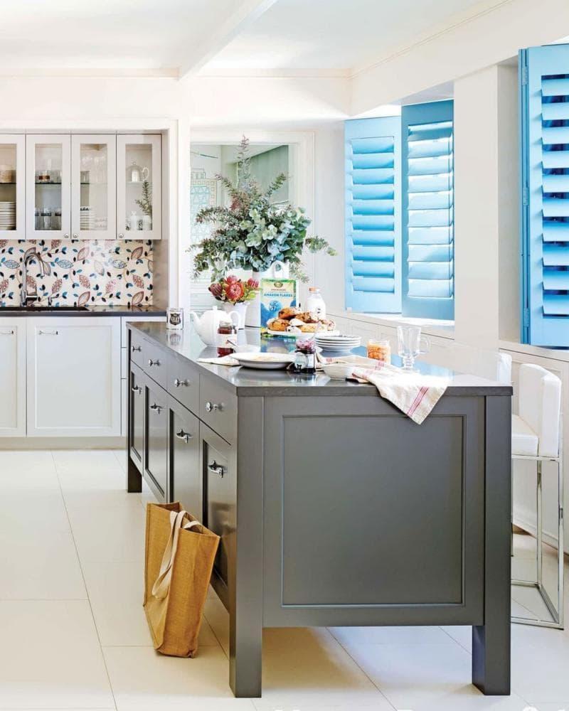 Модели штор для кухни 2019 жалюзи 1