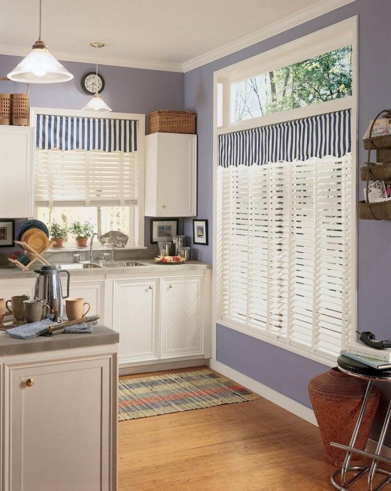 Модели штор для кухни 2019 жалюзи 3