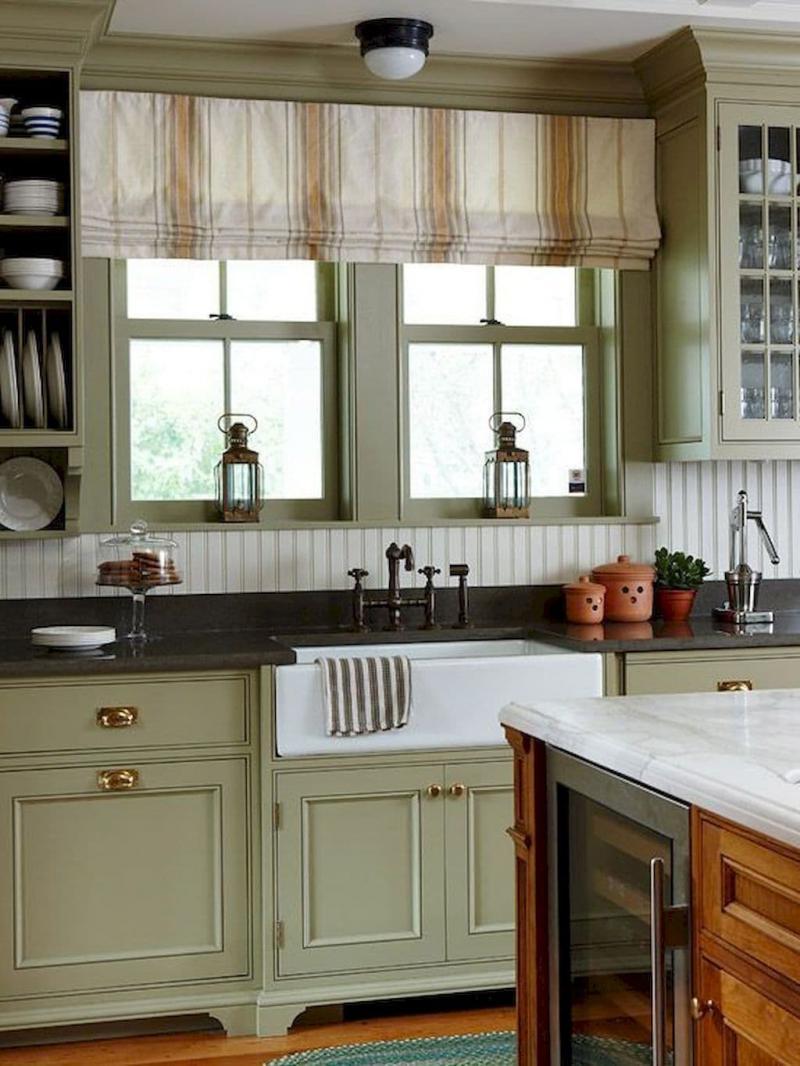 Принт на шторах для кухни 2019 полосы 3