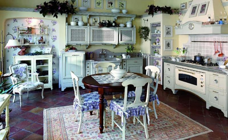 Аксессуары для кухни в стиле прованс 4