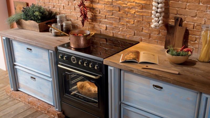 Бытовая техника для кухни с тиле прованс 2