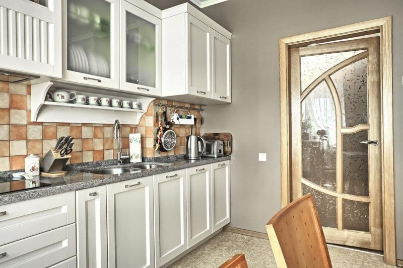 Двери для кухни в стиле прованс 1