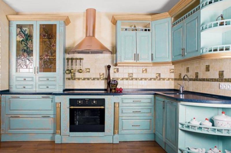 Кухонный гаринтур в стиле прованс 2