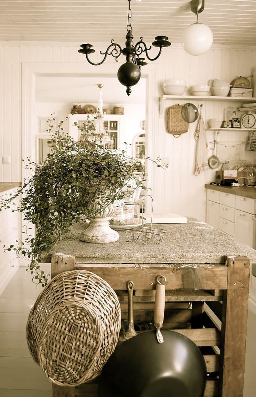 Столешница для кухни в стиле прованс 4