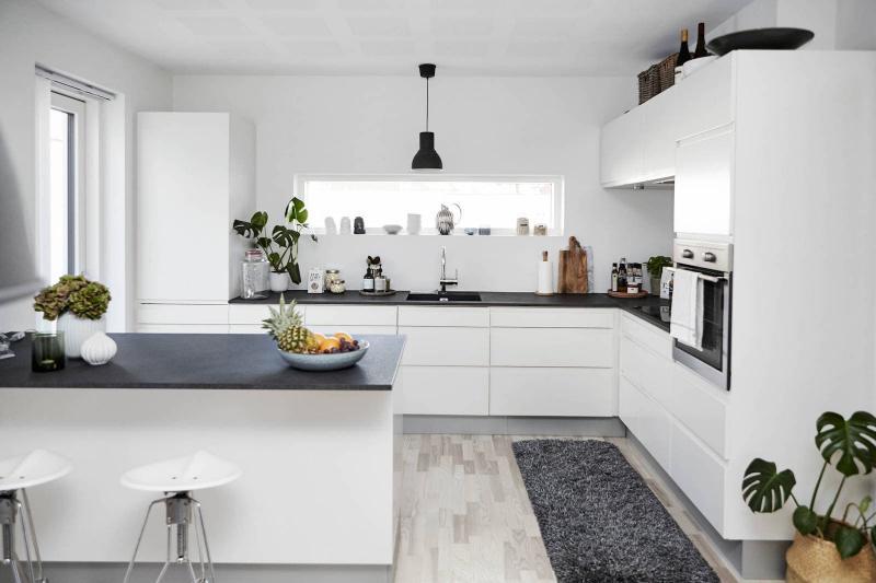 Бытовая техника на кухне в скандинавском стиле 2