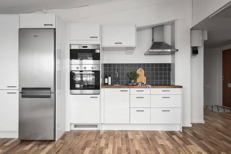 Кухонный фартук в скандинавском стиле 4