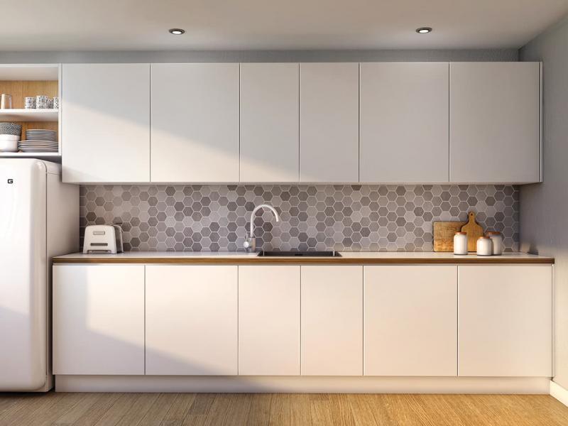 Кухонный фартук в скандинавском стиле 5