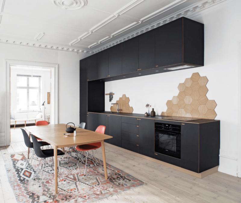 Кухонный фартук в скандинавском стиле 7