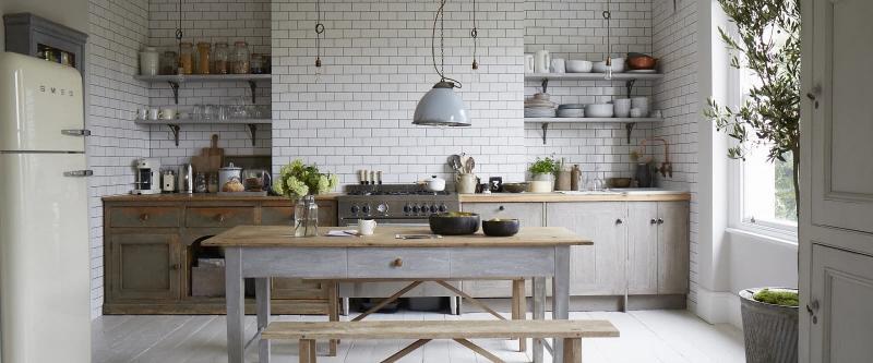 Кухонный гарнитур в скандинавском стиле 2