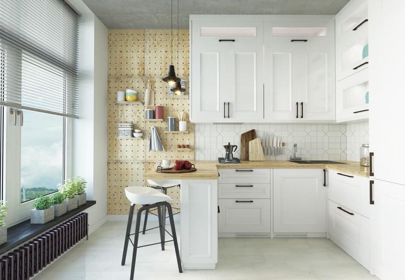 Кухонный гарнитур в скандинавском стиле 3