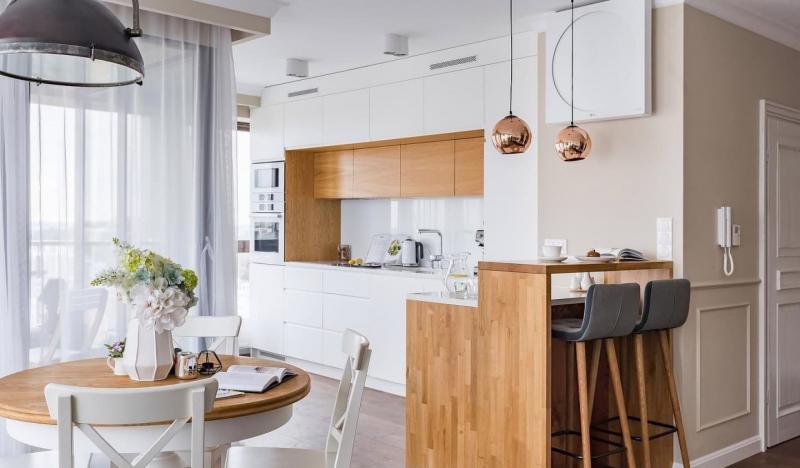 Кухонный гарнитур в скандинавском стиле 5
